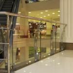 ограждения лестниц из стекла