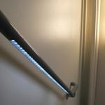 светодиодная подсветка стеклянного ограждения